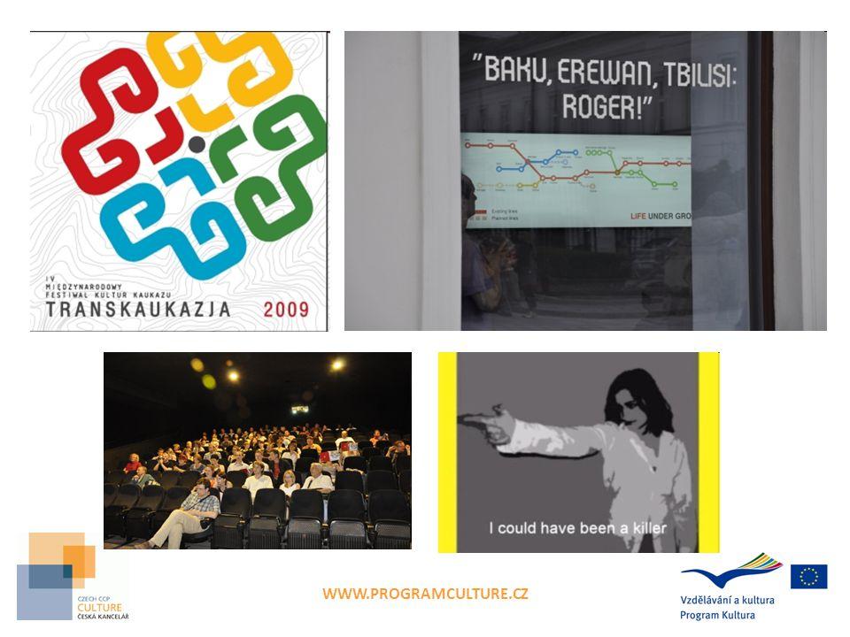 TRANSKAUKAZJA 2011 – úspěšný projekt  Země: PL + AT, CZ, DE + Arménie, Gruzie  Vedoucí projektu: FUNDACJA INNA PRZESTRZEN  Spoluorganizátoři: INTERKULTURELLEZS ZENTRUM, AT EASTERN ALLIANCE, CZ KULTUR AKTIV E.