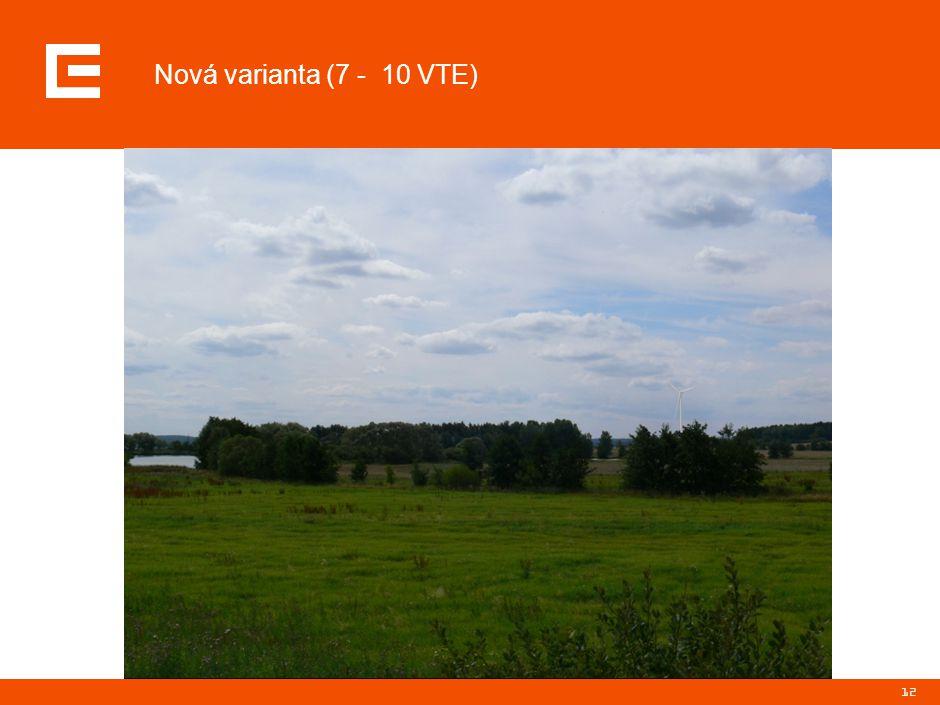 12 Nová varianta (7 - 10 VTE)