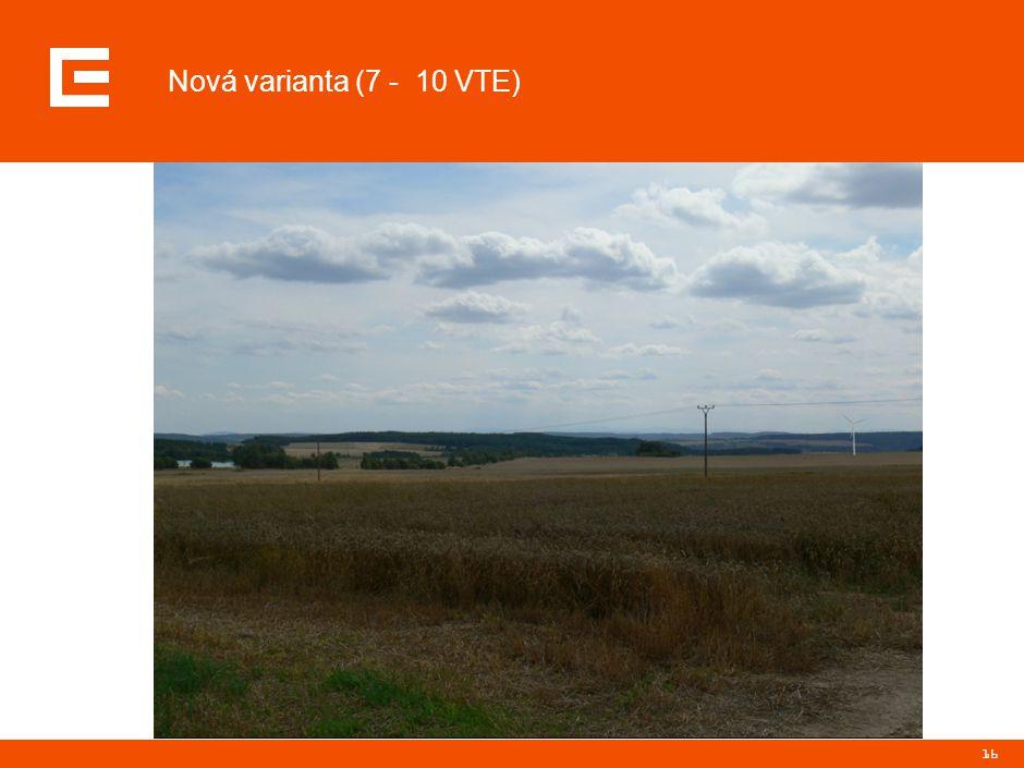 16 Nová varianta (7 - 10 VTE)