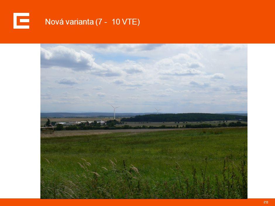 20 Nová varianta (7 - 10 VTE)
