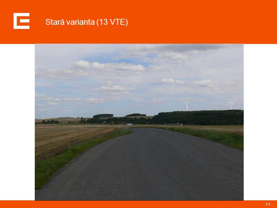 23 Stará varianta (13 VTE)