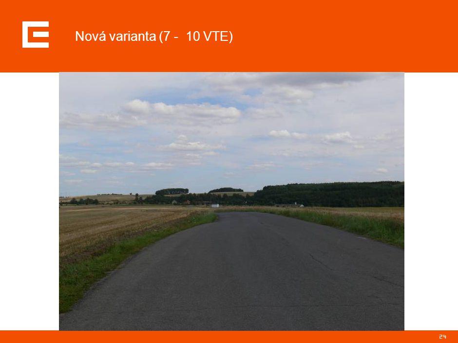 24 Nová varianta (7 - 10 VTE)