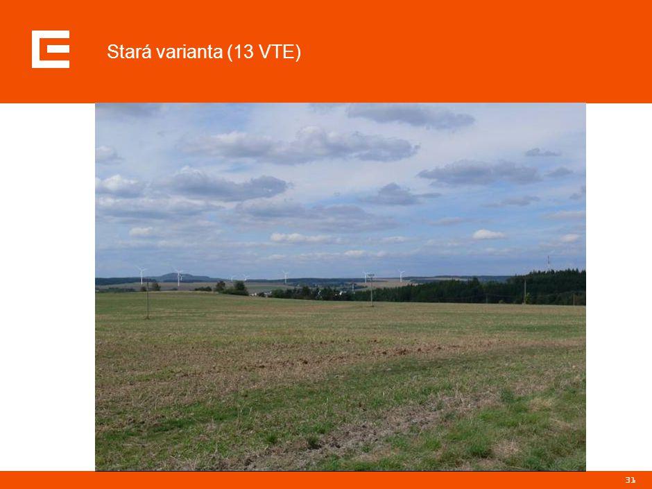 31 Stará varianta (13 VTE)