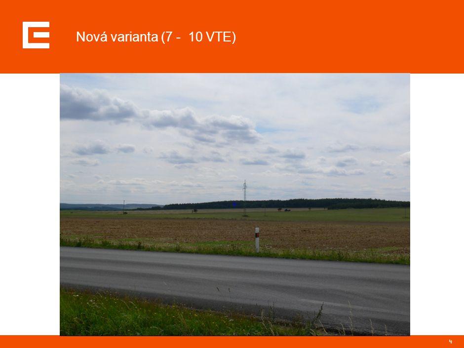 4 Nová varianta (7 - 10 VTE)