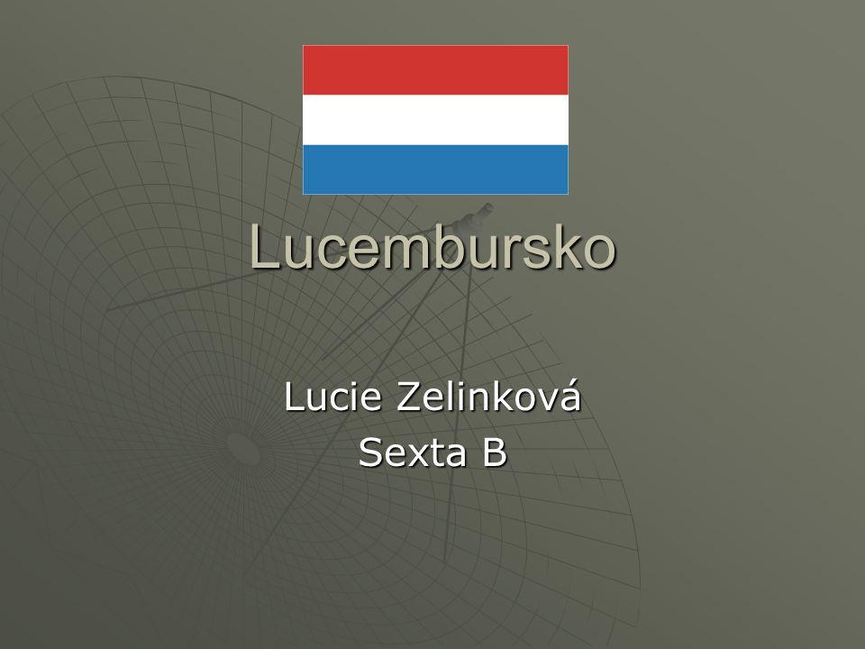Lucembursko Lucie Zelinková Sexta B