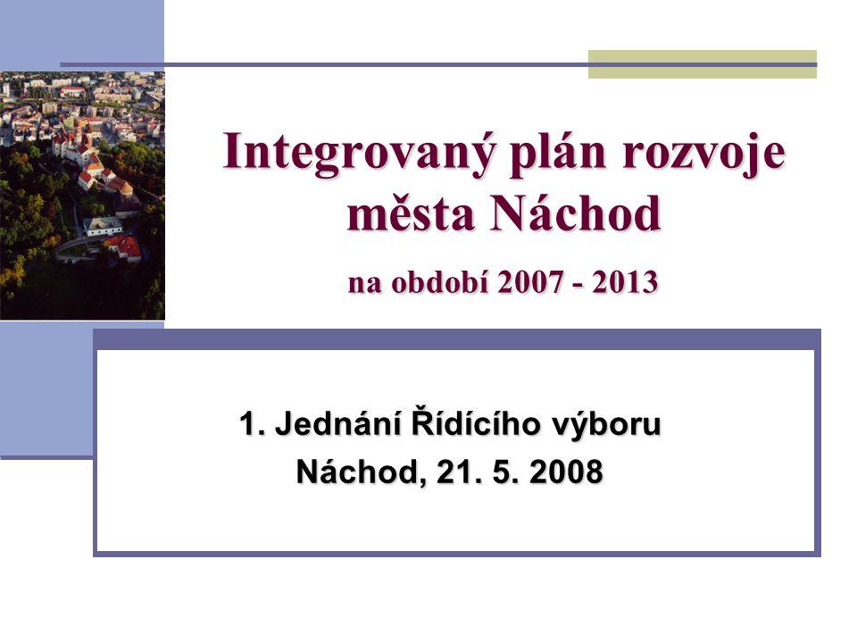 Integrovaný plán rozvoje města Náchod na období 2007 - 2013 1.