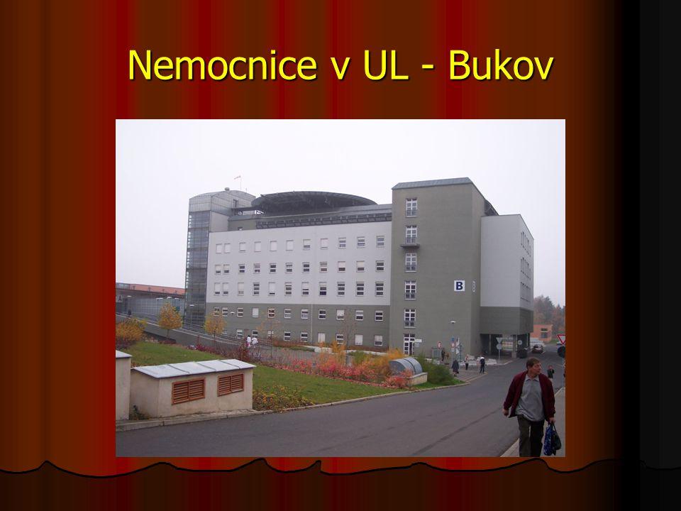 Nemocnice v UL - Bukov