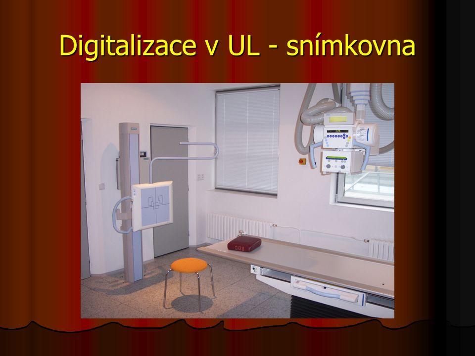 Digitalizace v UL - snímkovna