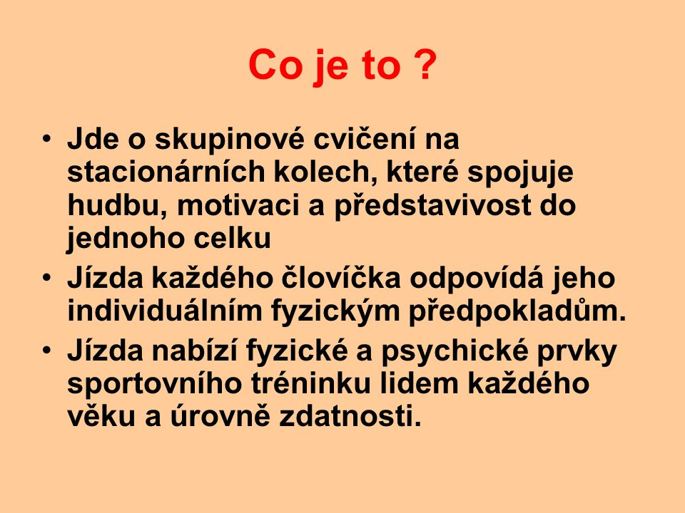 Co je to .