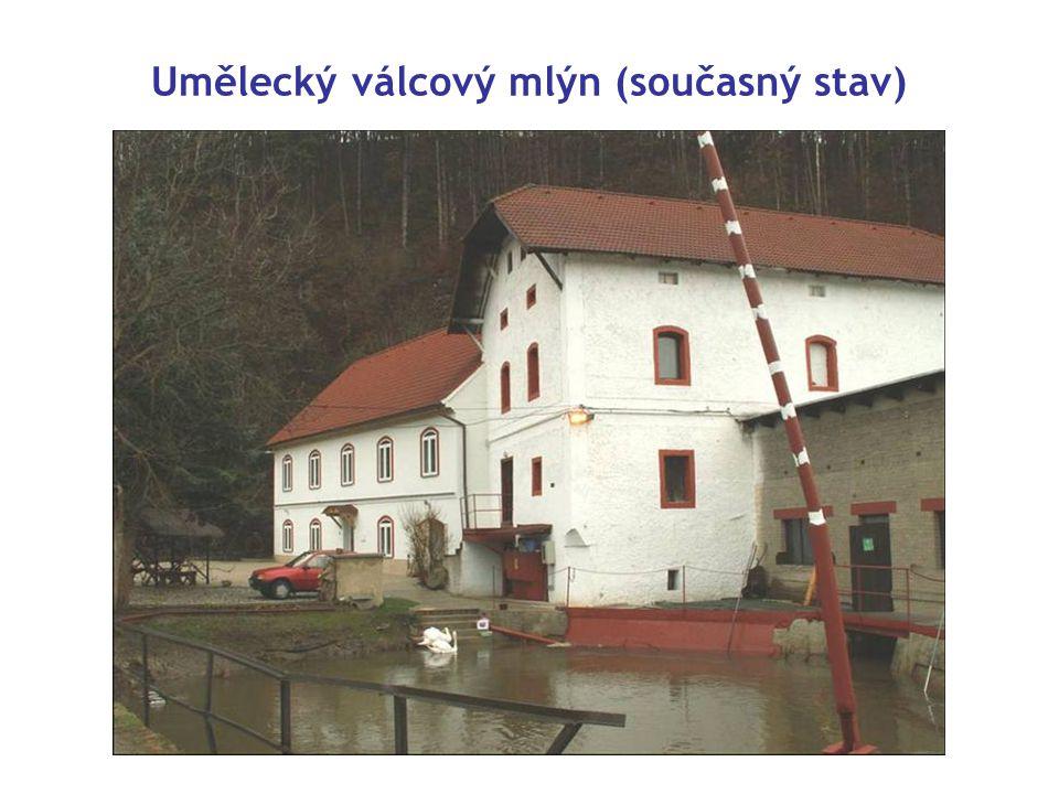 Umělecký válcový mlýn (současný stav)