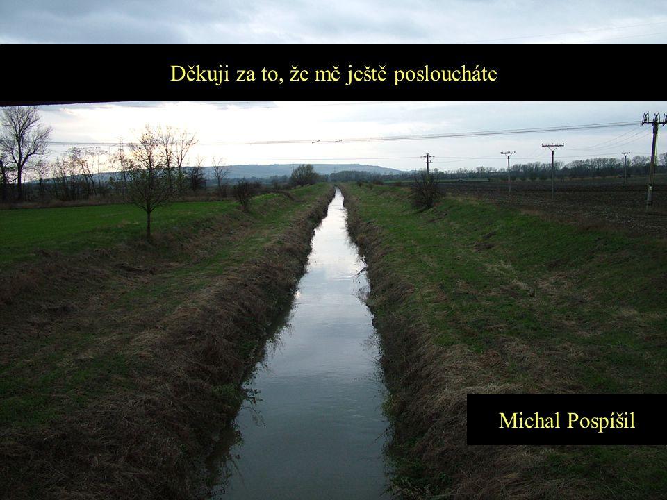 Děkuji za to, že mě ještě posloucháte Michal Pospíšil