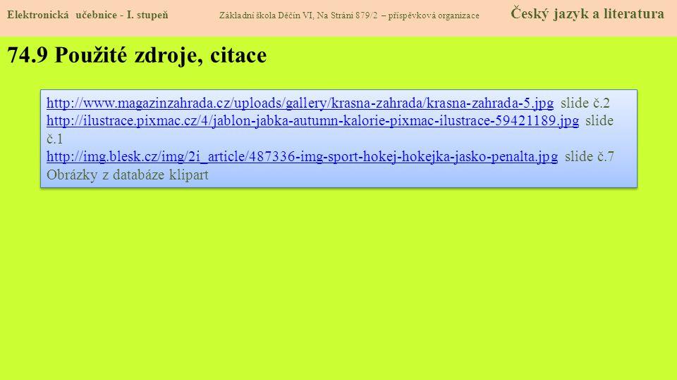 74.10 Anotace Elektronická učebnice - I.