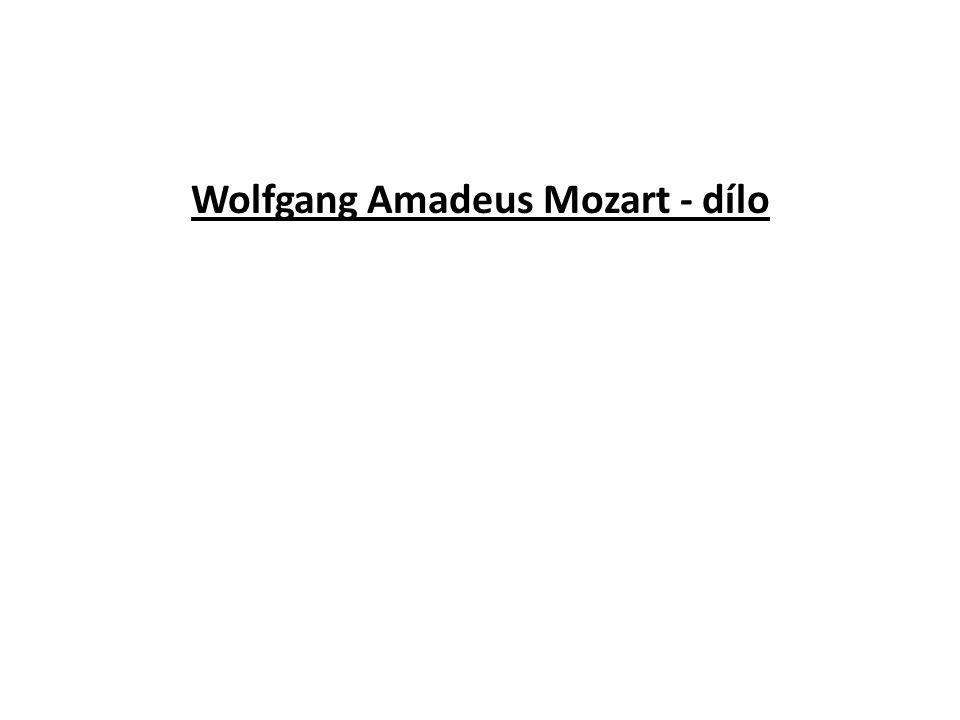 """Doporučený poslech 1.Don Giovanni – předehra 2.Symfonie C dur """"Jupiter"""