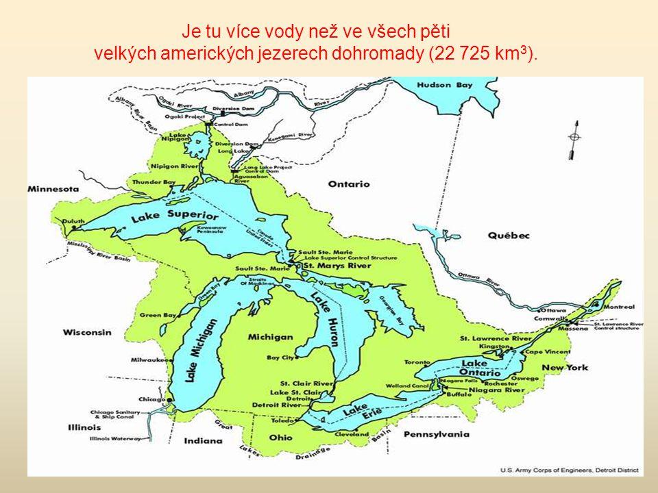 Objem vody v jezeře činí 23 000 km 3, což je 20% světových a 90% ruských zásob sladké vody.