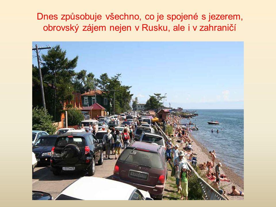 Bajkal a turisté