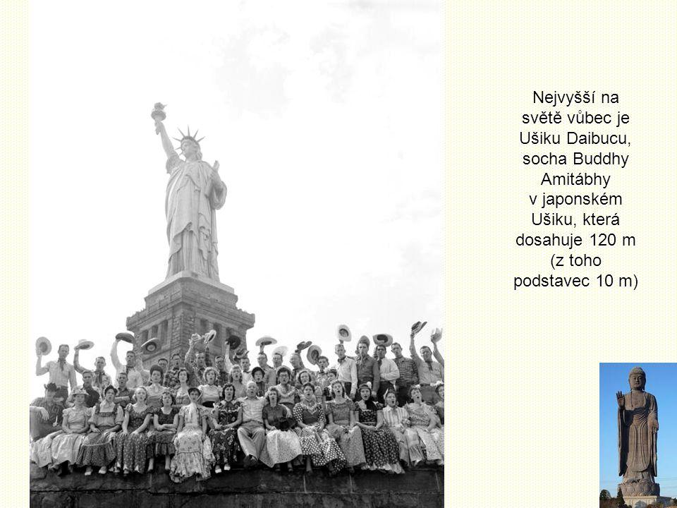 Srovnání Pokud jde o sochy, není Socha Svobody ani zdaleka nejvyšší volně stojící postavou světa. Kupříkladu Matka Vlast volá! na Mamajově mohyle ve V