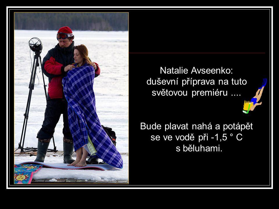 Natalia Avseenko zatím stále v neoprenu