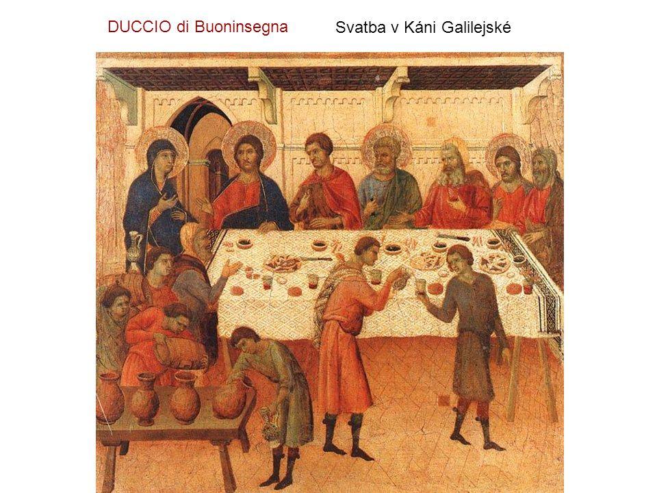 Poslední večeře DUCCIO di Buoninsegna