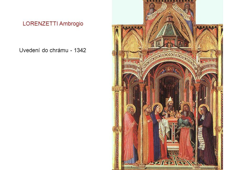 Svatba v Káni Galilejské DUCCIO di Buoninsegna