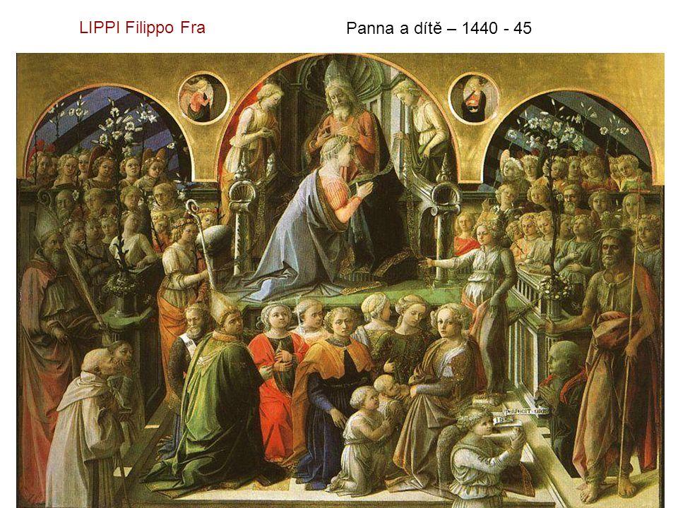 Korunovace Panny Marie LIPPI Filippo Fra