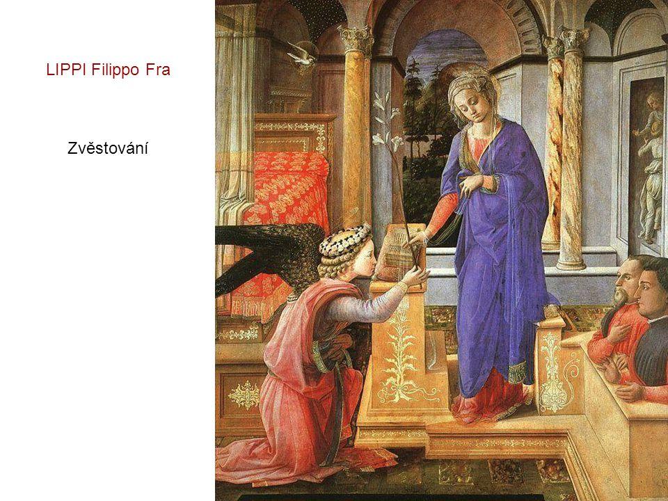 Panna a dítě – 1440 - 45 LIPPI Filippo Fra