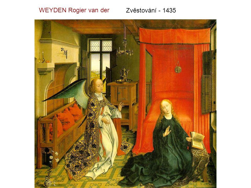 Kladení do hrobu - 1450 WEYDEN Rogier van der