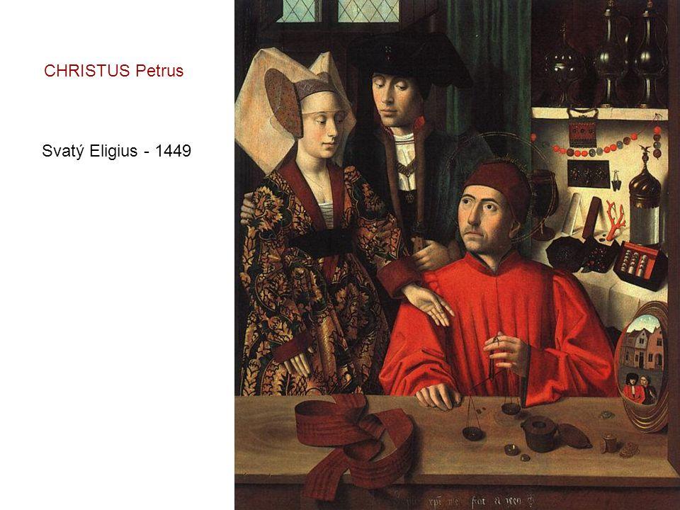Zvěstování - 1452 CHRISTUS Petrus
