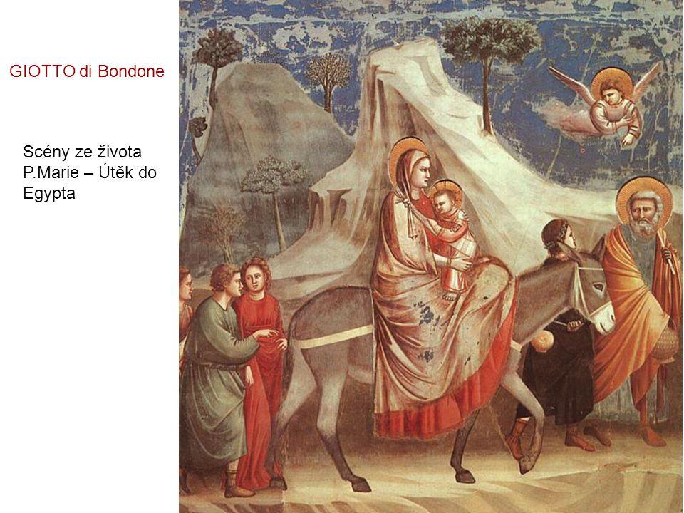 Scény ze života Kristova - Narození GIOTTO di Bondone