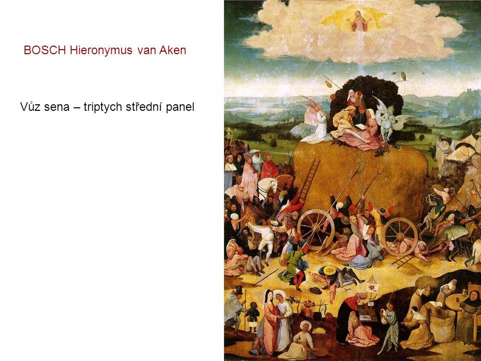 Zahrada rozkoší – triptych střední panel BOSCH Hieronymus van Aken