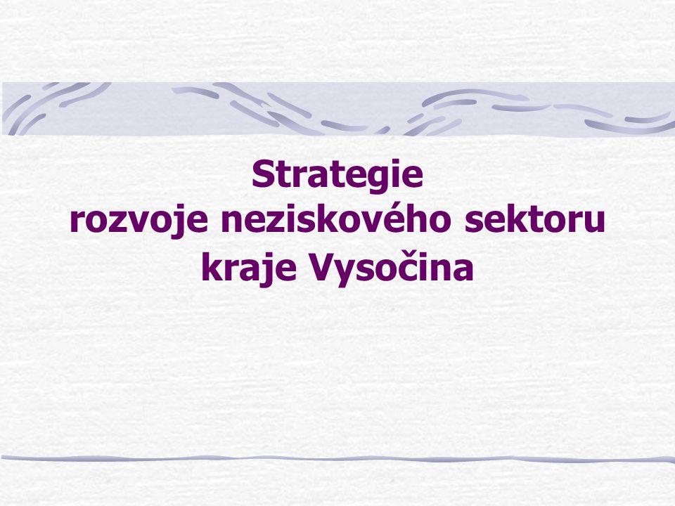 Strategie rozvoje neziskového sektoru kraje Vysočina