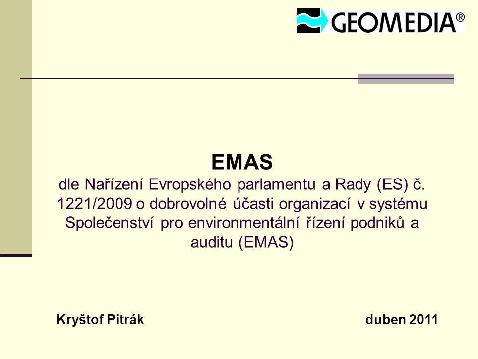 EMAS dle Nařízení Evropského parlamentu a Rady (ES) č.