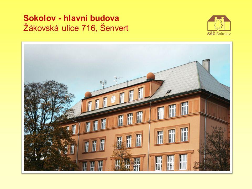 Sokolov - hlavní budova Žákovská ulice 716, Šenvert