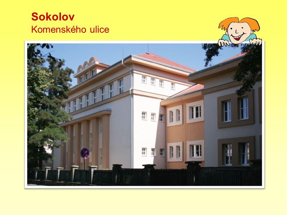 Sokolov Komenského ulice