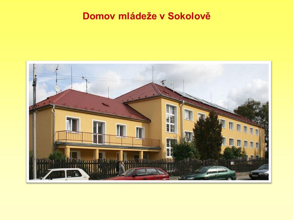 Domov mládeže v Sokolově