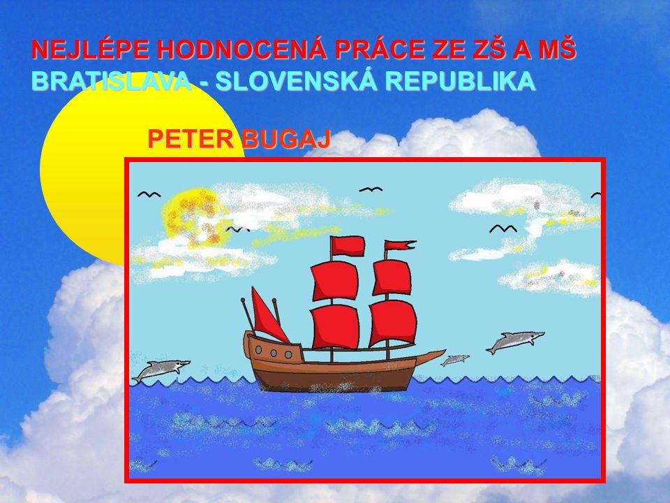 NEJLÉPE HODNOCENÁ PRÁCE ZE ZŠ A MŠ BRATISLAVA - SLOVENSKÁ REPUBLIKA NEJLÉPE HODNOCENÁ PRÁCE ZE ZŠ A MŠ BRATISLAVA - SLOVENSKÁ REPUBLIKA PETER BUGAJ PETER BUGAJ