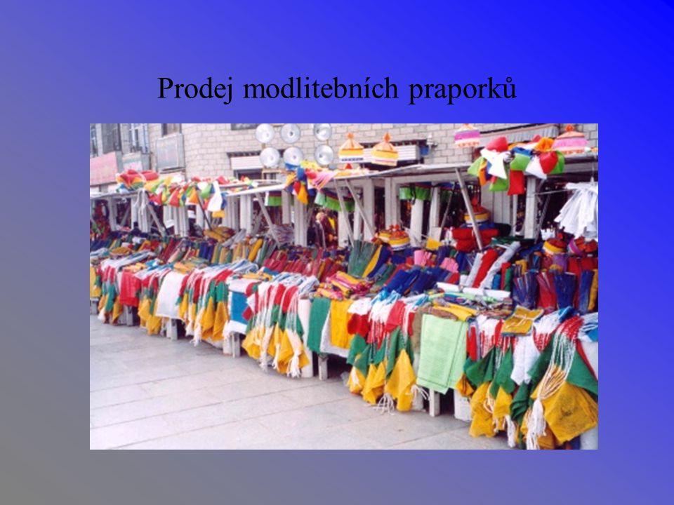Prodej modlitebních praporků