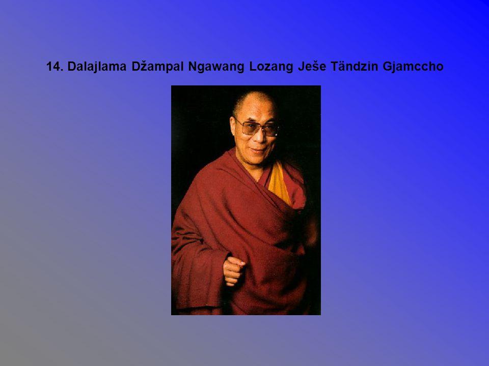14. Dalajlama Džampal Ngawang Lozang Ješe Tändzin Gjamccho