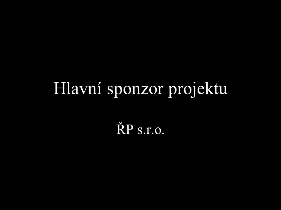 Hlavní sponzor projektu ŘP s.r.o.