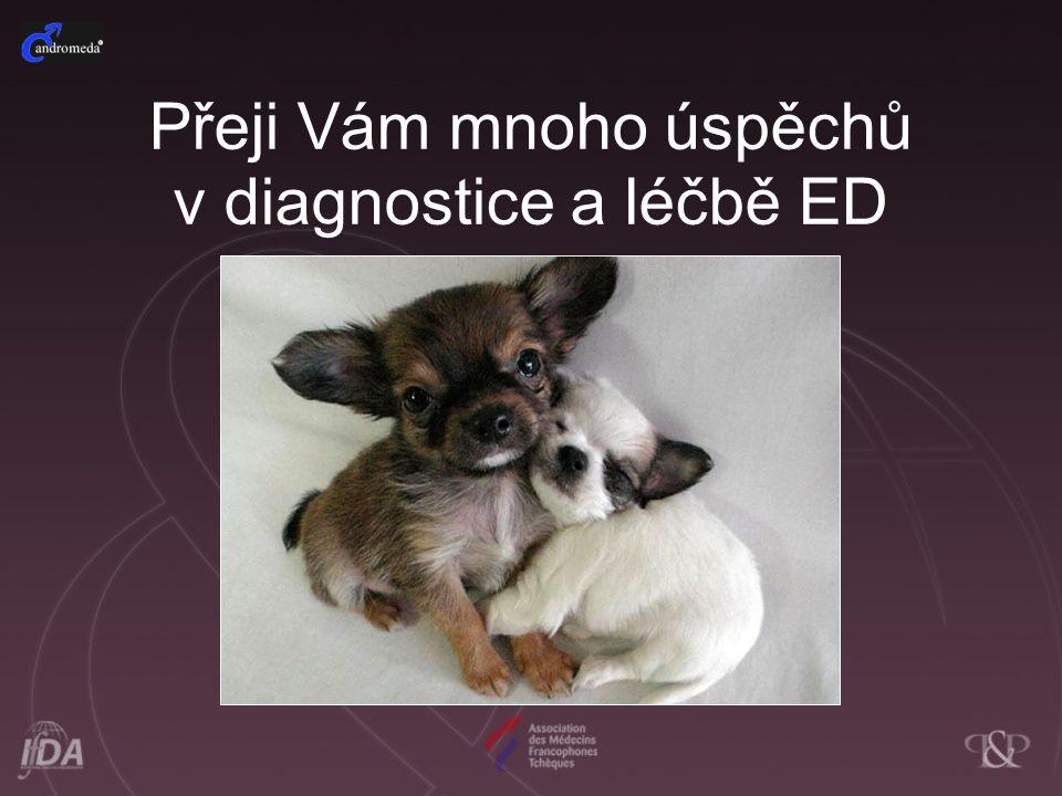 Přeji Vám mnoho úspěchů v diagnostice a léčbě ED