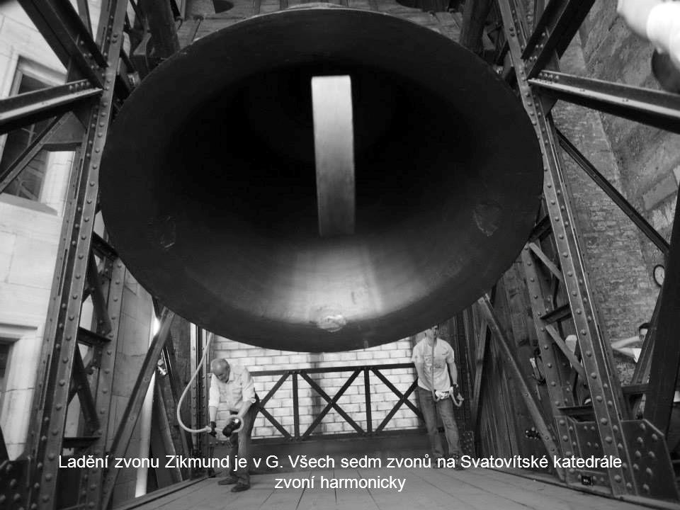 Srdce zvonu každým úderem zasazuje rány zvonu. Zvon se musí jednou za 150 let o 90 stupňů otočit, aby nepuknul