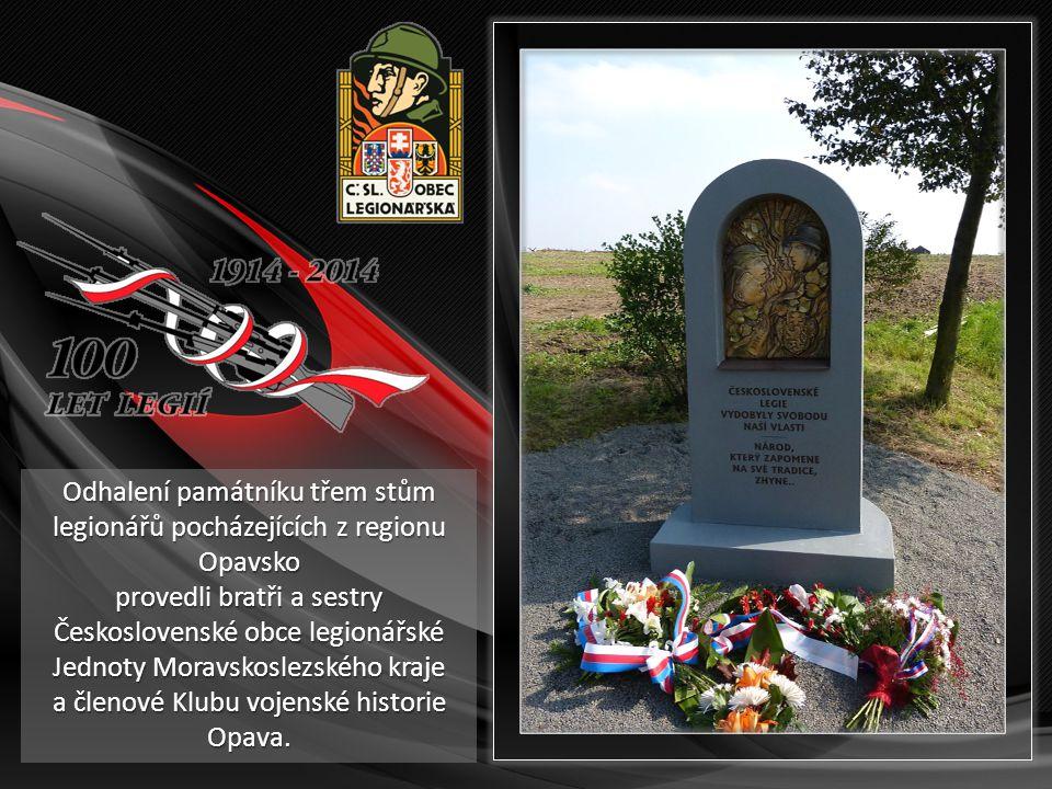 Největší poděkování za vybudování tohoto krásného památníku patří akademické sochařce Janě Chráskové a jejímu synovi Pavlu Chráskovi.
