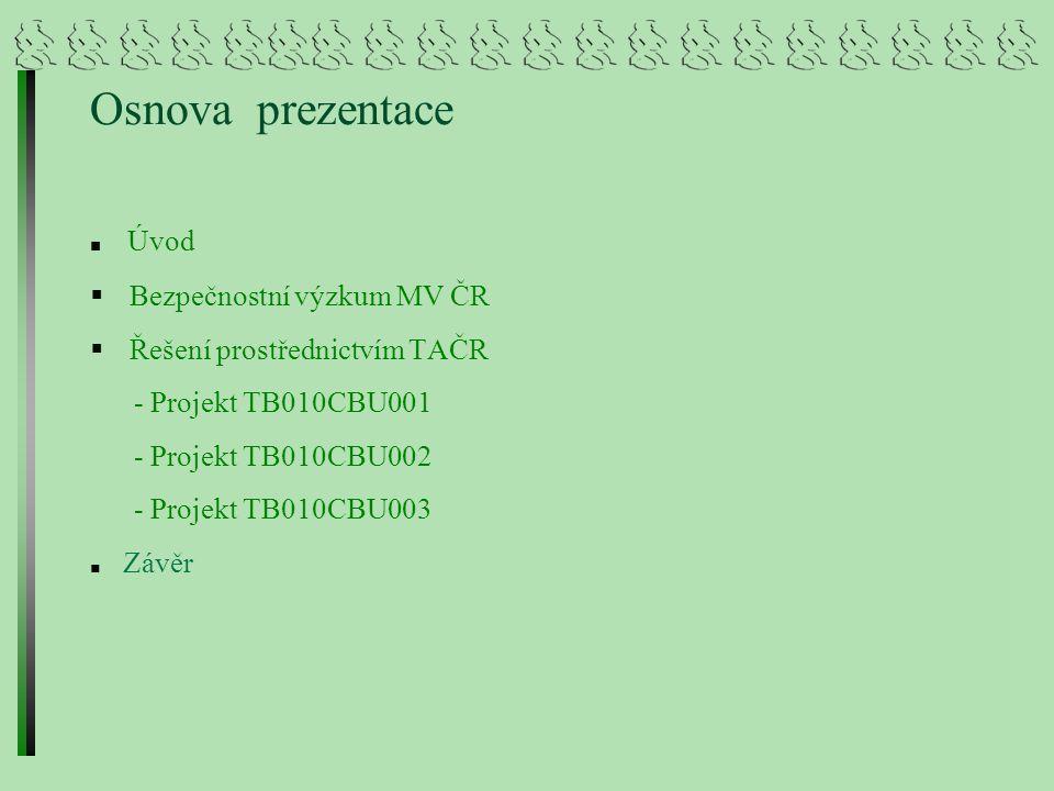 """Projekt TB010CBU003 """"Predikce horninových struktur na základě stávajících geologických poznatků, vedoucích k možnému vybudování dalších podzemních zásobníků pro uskladňování zemního plynu Řešitel : VŠB – TUO, HGF Spoluřešitel: FITE, a.s."""