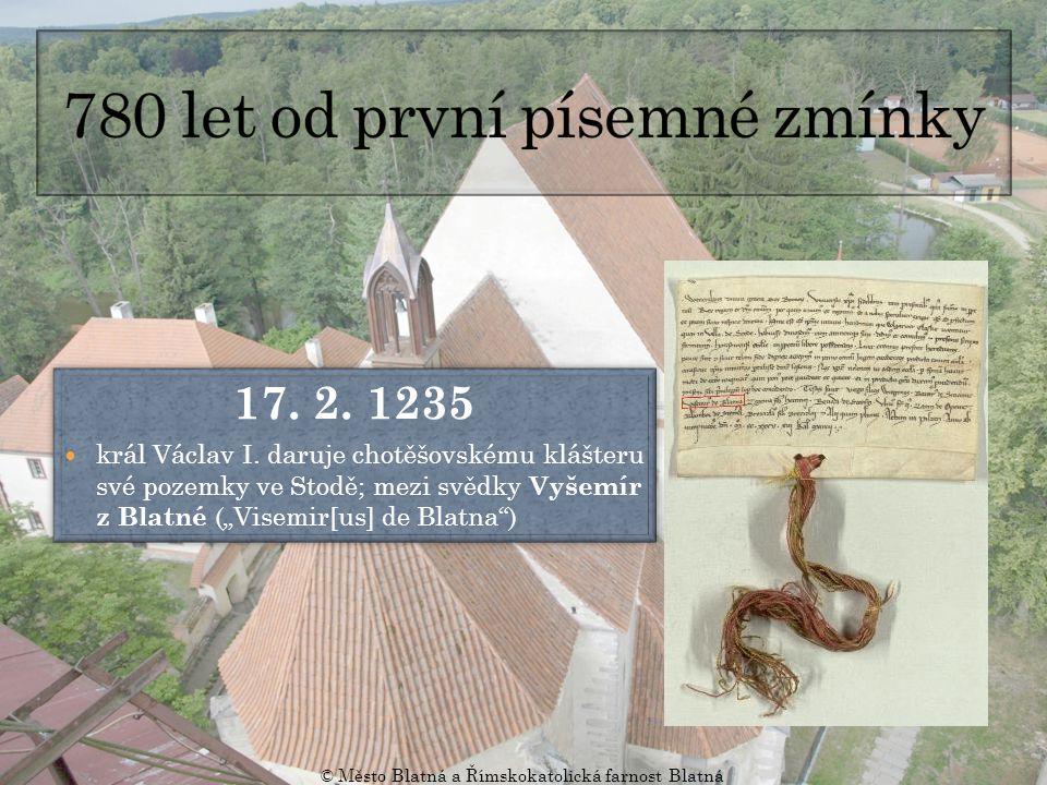 17.2. 1235 král Václav I.