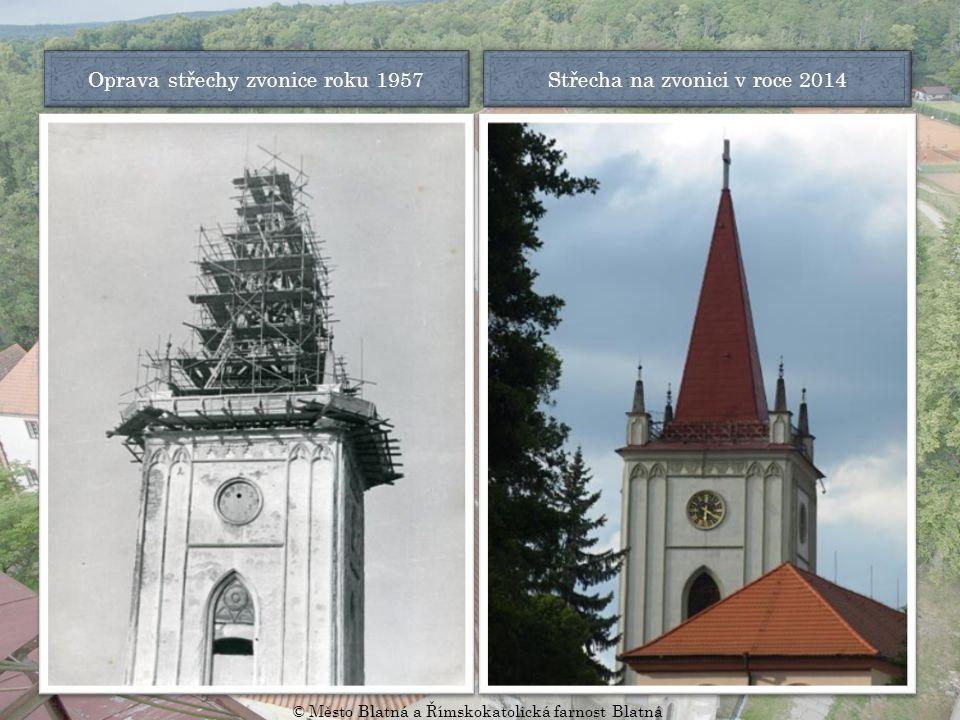 Kaple svatého Michaela kolem roku 1901 Kaple svatého Michaela v roce 2014 © Město Blatná a Římskokatolická farnost Blatná