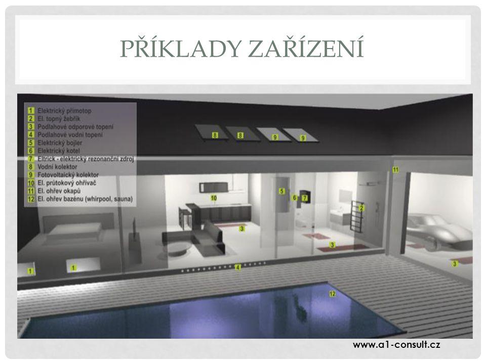 PŘÍKLADY ZAŘÍZENÍ www.a1-consult.cz