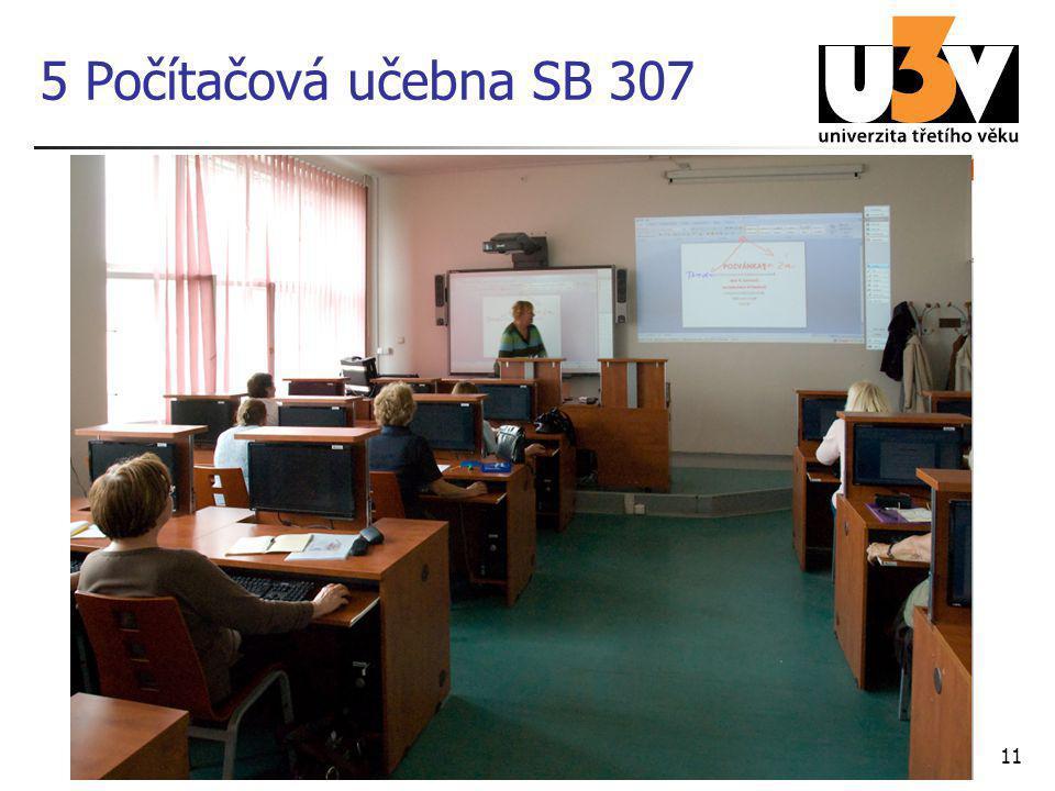 11 5 Počítačová učebna SB 307