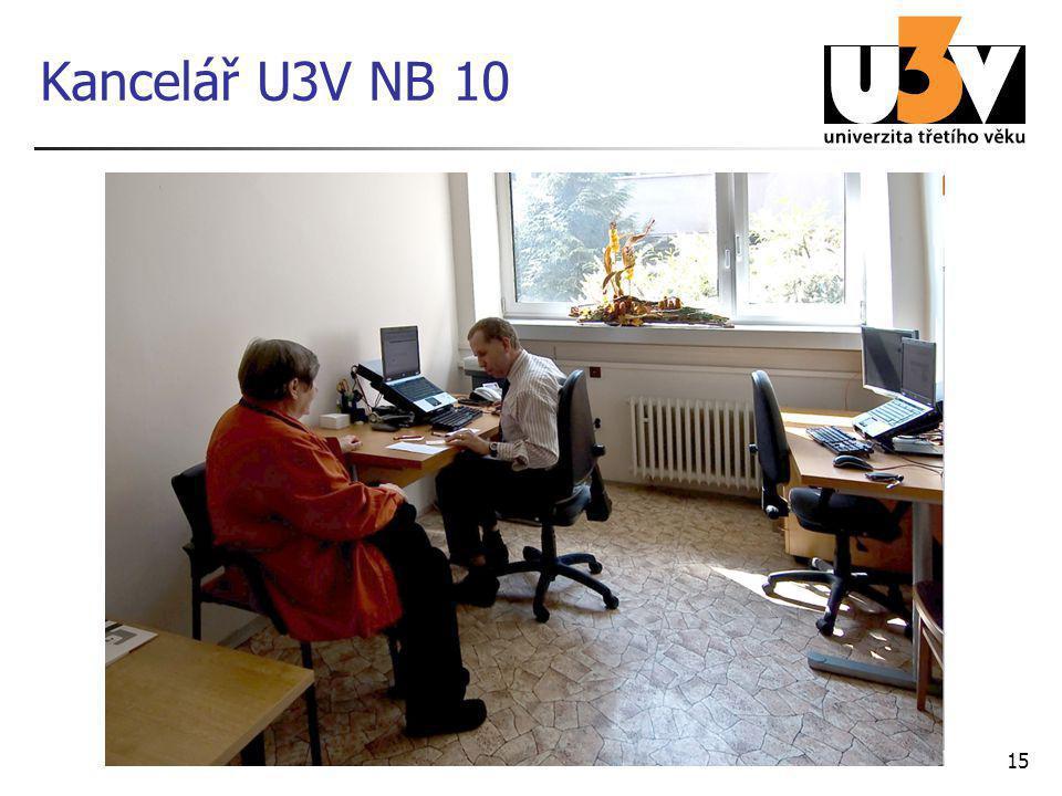 Kancelář U3V NB 10 15