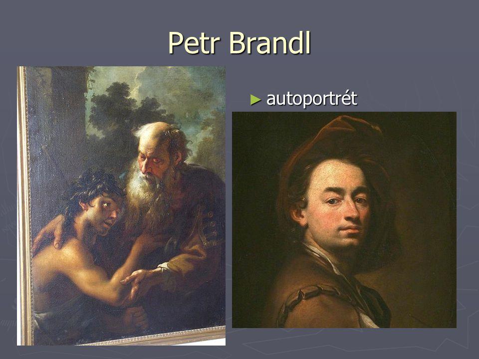 Petr Brandl ► autoportrét