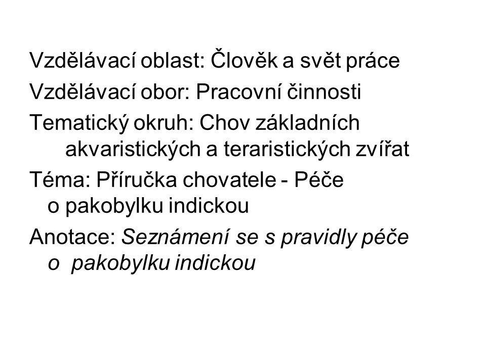 Zdroje: I fauna.Inzerce -bezobratlí [online]. 2012 [cit.