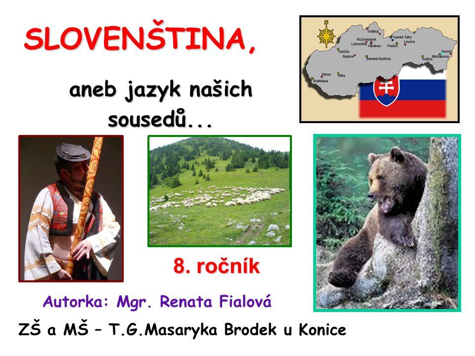 Co víš o České republice.Co víš o Slovenské republice.